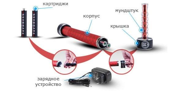 Электронный кальян (сборка)
