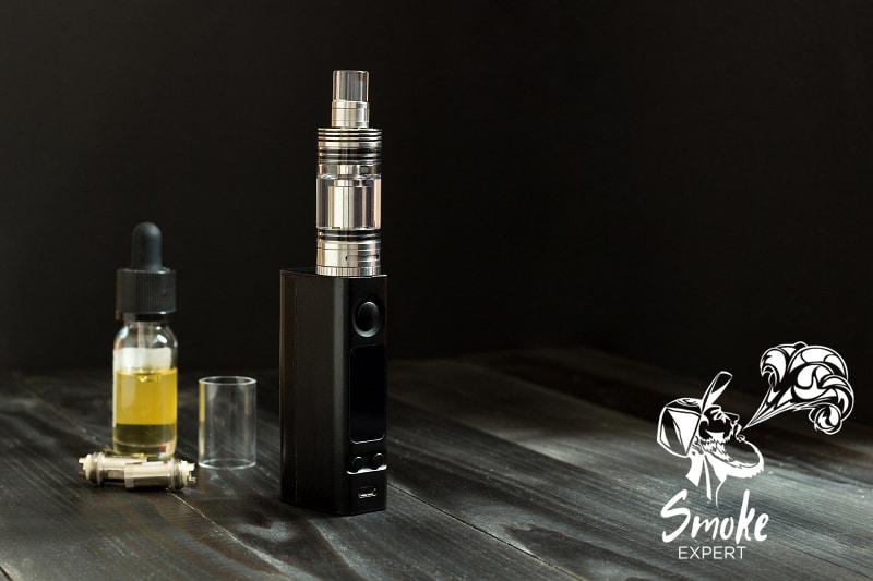 Жидкость для вейпа с содержанием никотина