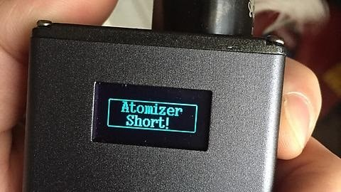 надпись Atomizer short
