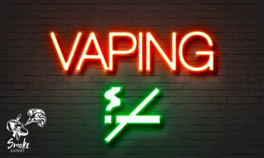 Можно ли бросить курить с помощью вейпинга