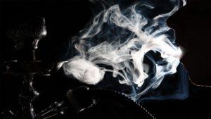 что содержит дым кальяна