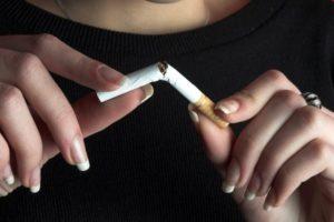 отказ от курения сигарет