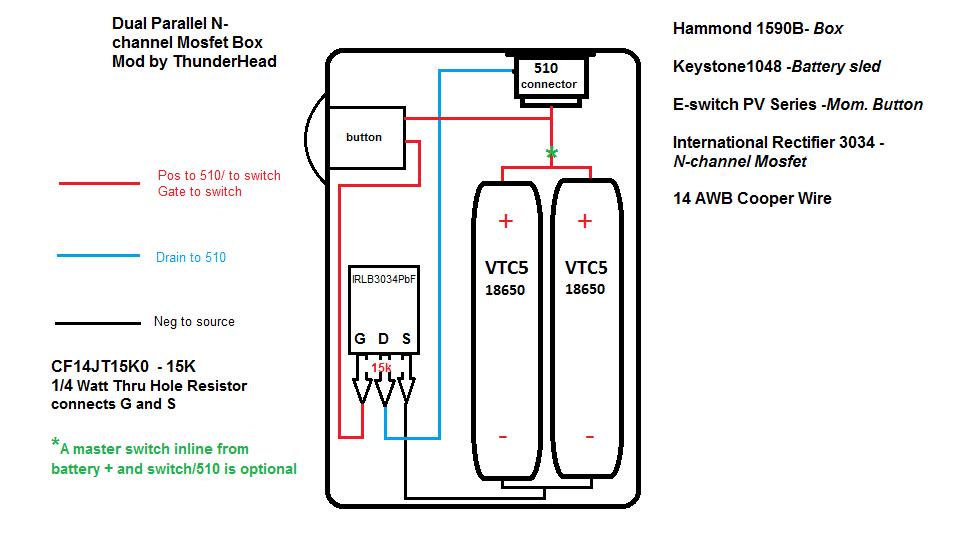 Схема сборки вейпмода
