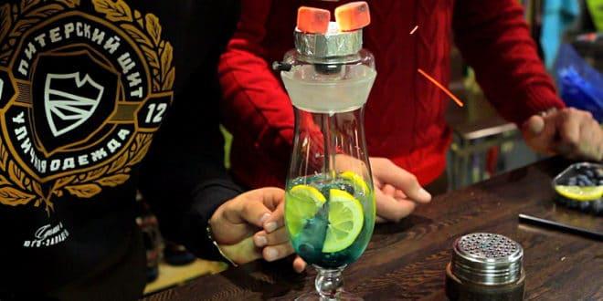 Кальян в стакане своими руками