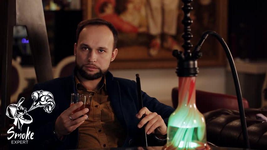 Курение кальяна вместе с алкоголем